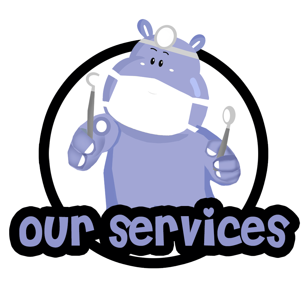 Our services — Children's dental services offered by Petite Smiles